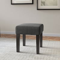 Porch & Den Albion 16-inch Square Upholstered Bench