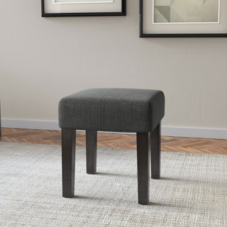 Clay Alder Home Broadway 16-inch Square Upholstered Bench