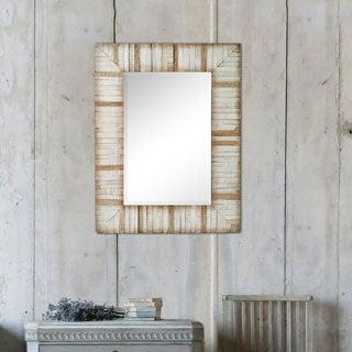 'Ember' Framed Rectangular Wall Mirror