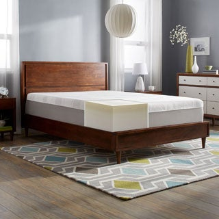 Slumber Solutions Choose Your Comfort 14-inch Cal King-size Memory Foam Mattress