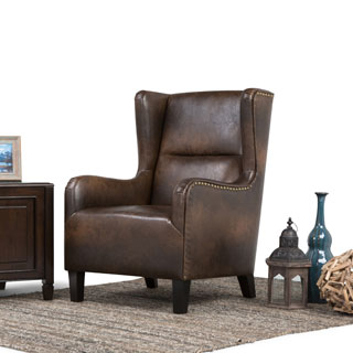 WYNDENHALL Manford Distressed Brown Bonded Leather Wingback Chair https://ak1.ostkcdn.com/images/products/P19165786a.jpg?_ostk_perf_=percv&impolicy=medium
