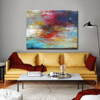 Ready2HangArt 'Strange Currents' by Norman Wyatt Jr. Canvas Art (3 options available)