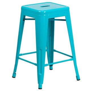 "24"" High Backless Barstool"