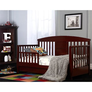 Dream On Me Brown Deluxe Toddler Day Bed