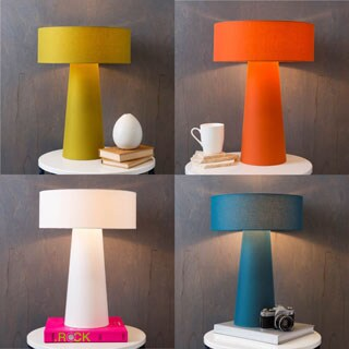 Modern Nikki Table Lamp with Iron Base