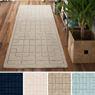Hand-Loomed Rivington Wool Rug (2'6 x 8')