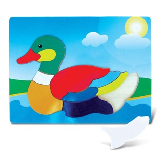 Puzzled Inc. Fun Duck Wooden Puzzle