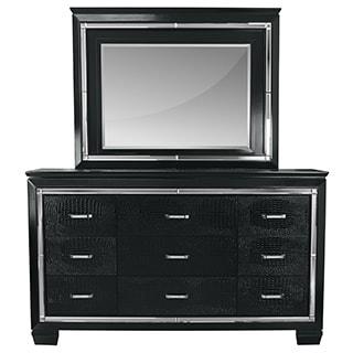 LYKE Home Lucas Dresser and Mirror Set