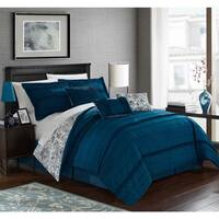 Clay Alder Home Denver Blue Comforter 7-piece Set