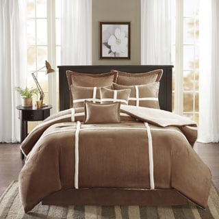 Madison Park Brewer Suede Comforter Set - Thumbnail 0