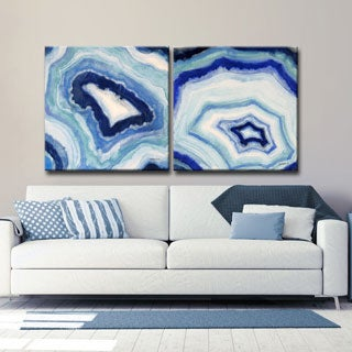 Ready2HangArt 'Ocean Geode I/II' by Norman Wyatt Jr. Canvas Art (3 options available)