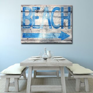 Ready2HangArt 'Beach that Way' by Norman Wyatt Jr. Canvas Art (4 options available)