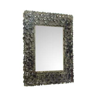 Aurelle Home Antique Patina Rectangular Mirror