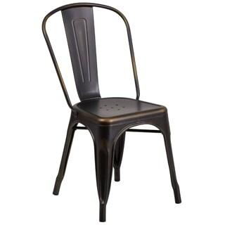 Porch & Den Stonehurst Blenheim Metal Indoor/ Outdoor Chair