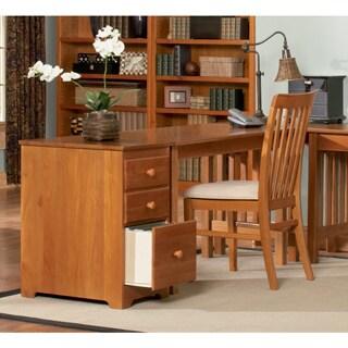 Atlantic Furniture Caramel Latte Wood Mission Writing Desk
