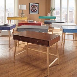 Marin Danish Modern 2-drawer Writing Desk by MID-CENTURY LIVING