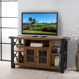 Tori Solid Wood TV Console Stand with Cabinet by Christopher Knight Home|https://ak1.ostkcdn.com/images/products/P19429259m.jpg?impolicy=medium
