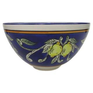 Le Souk Ceramique 'Citronique' Deep Stoneware Salad Bowl