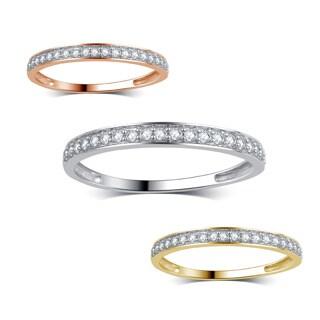 Divina 10k Gold 1/5ct TDW Diamond Wedding Band