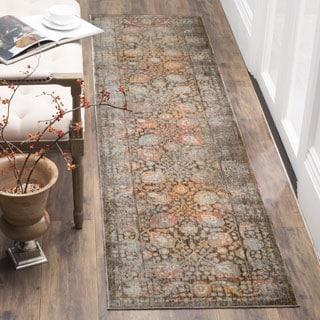 Safavieh Vintage Persian Brown / Multicolored Polyester Runner Rug (2' 2 x 12')