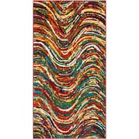 Safavieh Aruba Abstract Multi-colored Rug - 3' x 5'