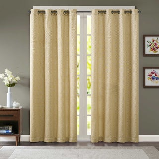 Madison Park Ezra Jacquard Window Curtain Panel