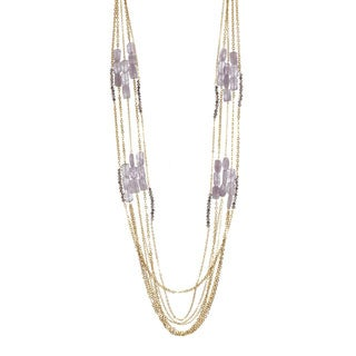 Cape May & Glass 5-Strand Necklace