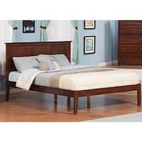 Atlantic Madison Walnut Wood King-size Open-foot Bed