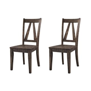 Shop Simple Living Edina Dining Chair Set Of 2 Free