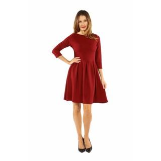 24/7 Comfort Apparel Women's Classic Little Black Dress (Option: Black)|https://ak1.ostkcdn.com/images/products/P19597210p.jpg?_ostk_perf_=percv&impolicy=medium