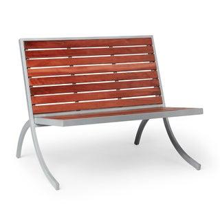 Rialto Silver Bench