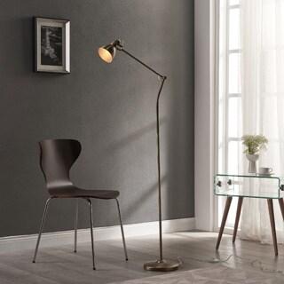 Teamson Versanora Passione Gold Finish Copper/Plastic/PVC Floor Lamp