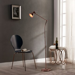 Versanora Passione Rose Gold Finish Floor Lamp