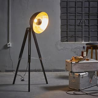 Teamson Versanora - Fascino Black Metal Tripod Floor Lamp|https://ak1.ostkcdn.com/images/products/P19604321p.jpg?impolicy=medium