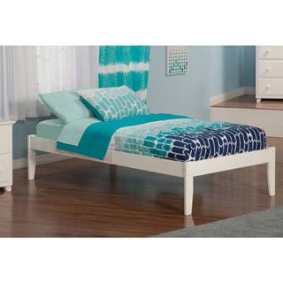 Concord White Twin Open Foot Bed