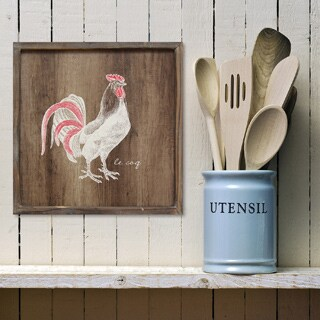 Stratton Home Decor Rooster Wall Art