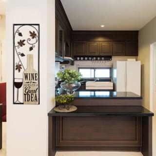 Stratton Home Decor Wine Panel Wall Art