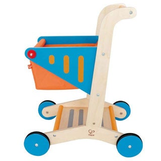 Hape 'Playfully Delicious' Wooden Shopping Cart