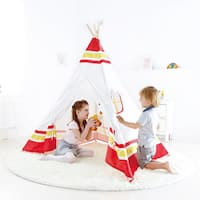 Hape Polyurethane Teepee Tent Playset