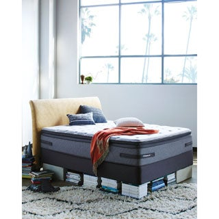 Sealy Posturepedic Hames Valley Plush Euro Pillowtop California King-size Mattress Set