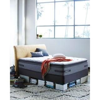 Sealy Posturepedic Hames Valley Plush Euro Pillowtop King-size Mattress Set