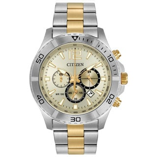 Citizen Men's Stainless Steel Chronograph Watch
