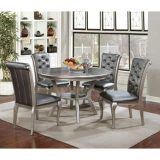 Furniture of America Mora Contemporary Champagne Round Dining Table|https://ak1.ostkcdn.com/images/products/P19684036a.jpg?impolicy=medium