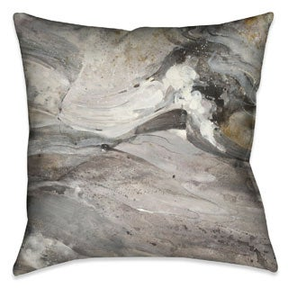 Abstract Stone Decorative 18-inch Throw Pillow