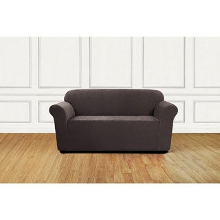 Sure Fit Ultimate Stretch Chenille 1-Piece Loveseat Slipcover