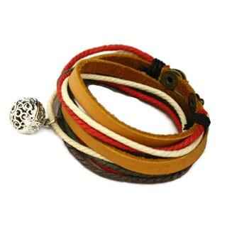 Harvest Essential Oil Diffuser Green Red Bracelet Choker Necklace