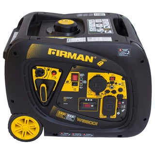 Firman W03083 3000/ 3300-watt Portable Gas Inverter with Electric and Remote Start