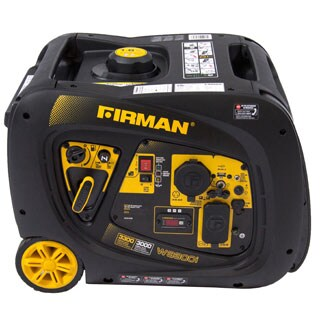 Firman Whisper Series W3082 3000/ 3300-Watt Portable Gas Inverter with Electric Start