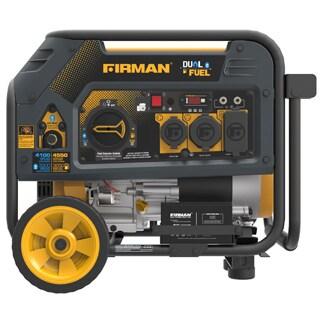 Firman Power Equipment H03651 Dual Fuel 4550/3650 Watt (Hybrid Series) Extended Run Time Generator with Electric Start