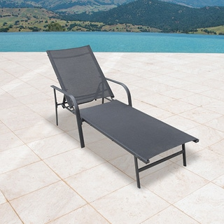 Outdoor chaise lounges for Chaise longue textilene
